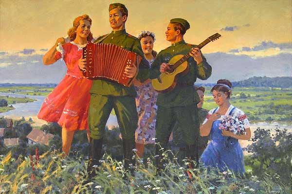 Весеняя песня.