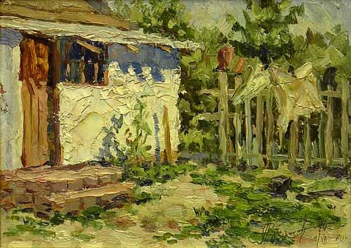 Старый двор. Кучеровка.