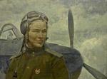 Портрет лётчицы Сурначевской.